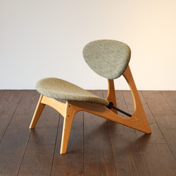 LOW CHAIR - oak / wedge