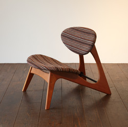 LOW CHAIR - cherry / wedge