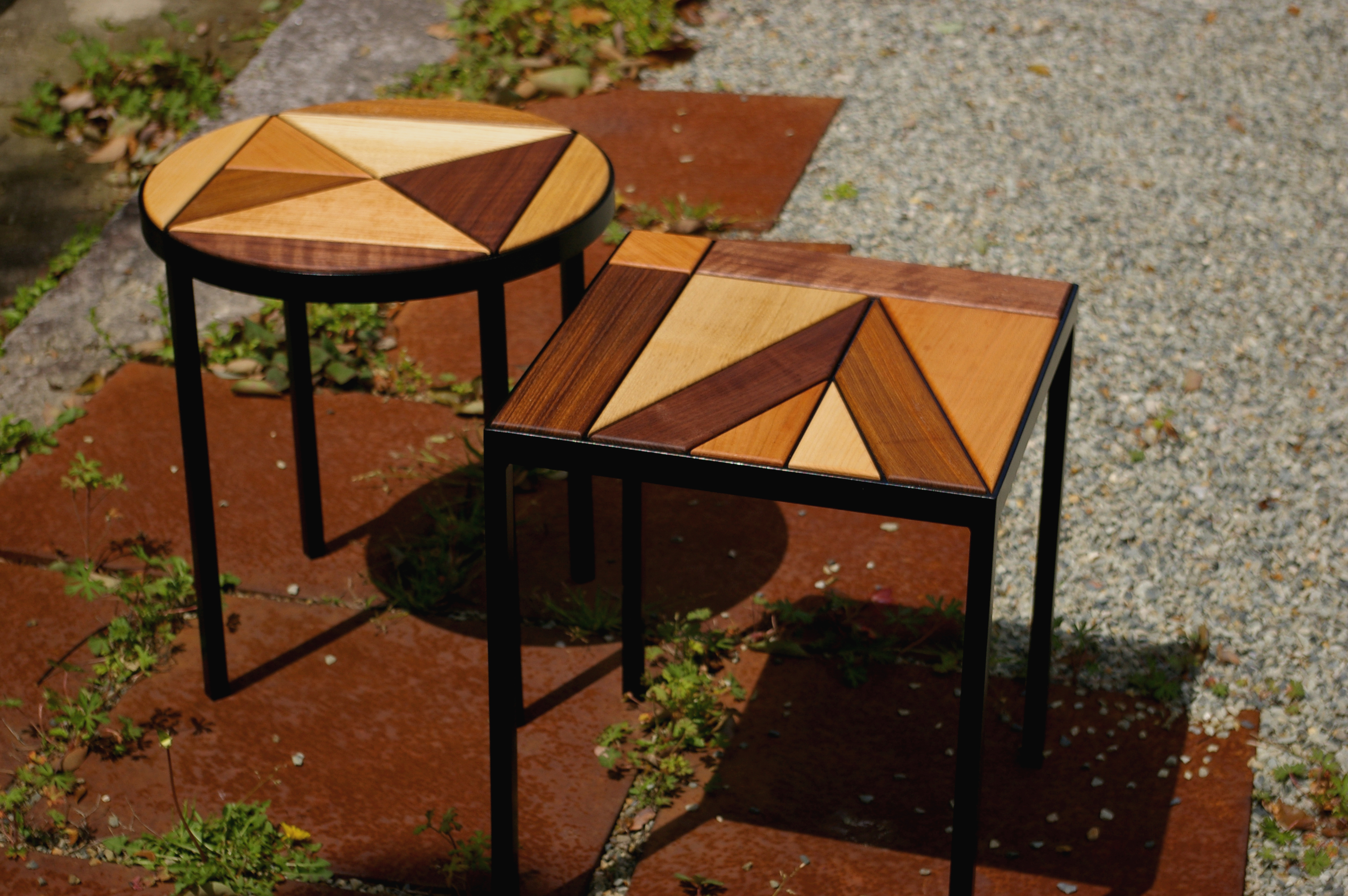 MOSAIC STOOLS / wedge