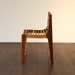 LOUVER LINE CHAIR / wedge