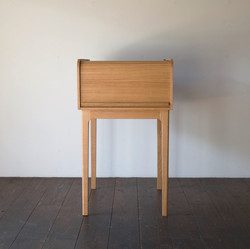FOLDING TAMBOUR DESK / wedge