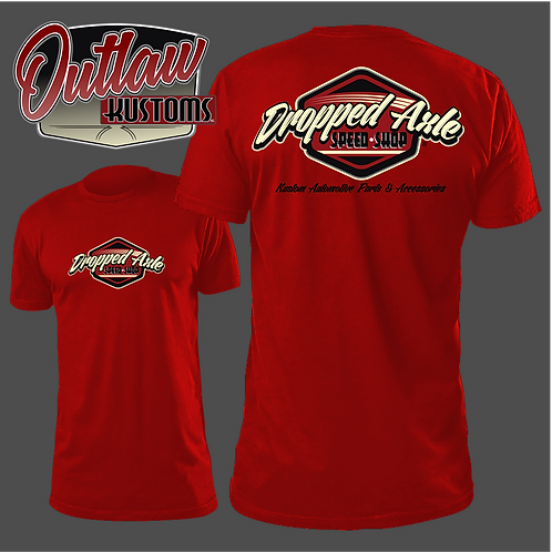 Dropped Axle Speed Shop Tee