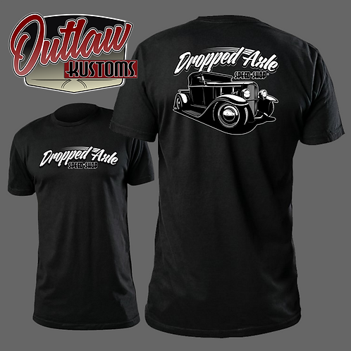 Dropped Axle Speed Shop Roadster Tee