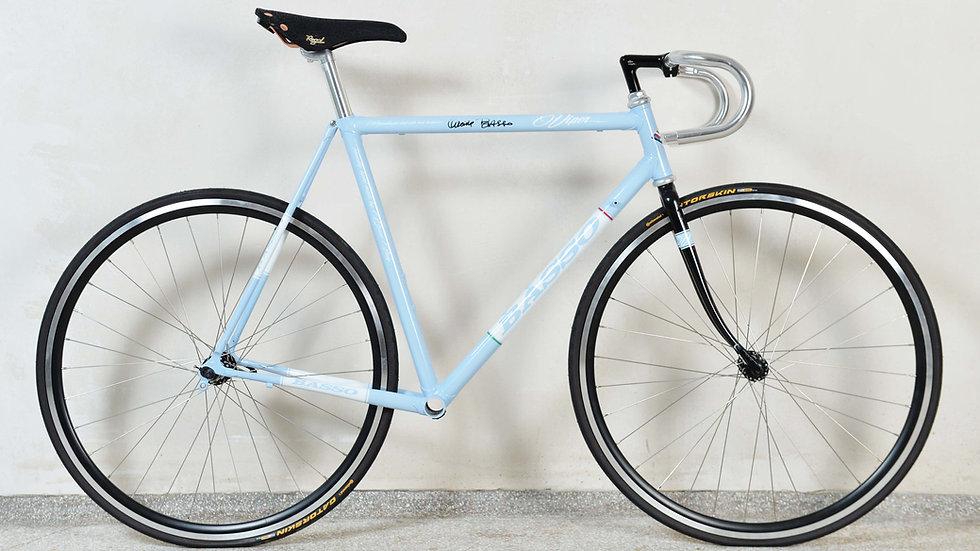 """Basso """"Viper"""" Rennrad, Rahmenkit mit Sattel und Lenker"""