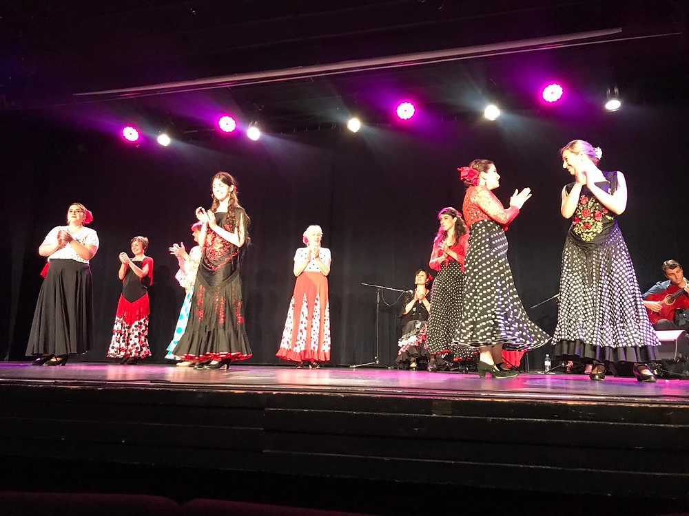 Concert Flamenco Annecy salle Pierre Lamy