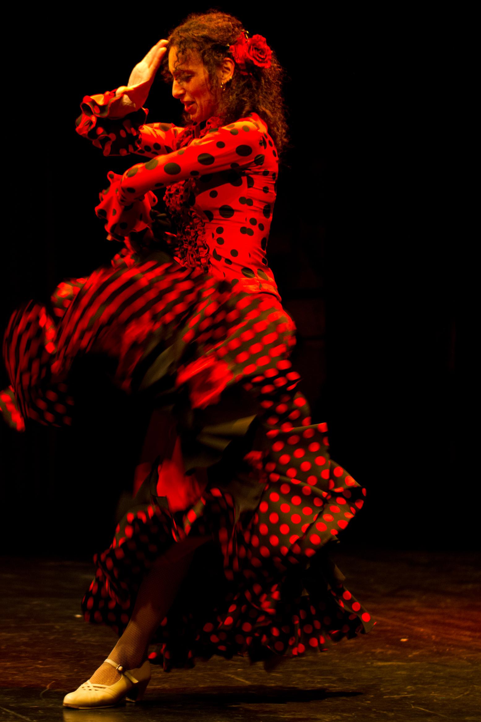 Robe flamenco soirée Genève