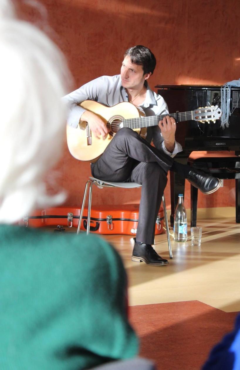 guitare flamenca Lausanne
