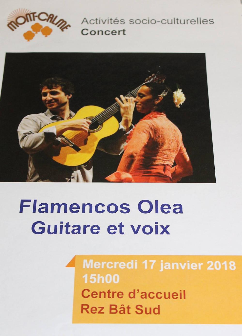 Concert Flamenco Lausanne