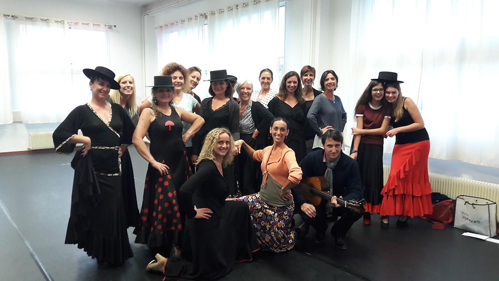 Cours de flamenco Pringy Annecy Haute savoie