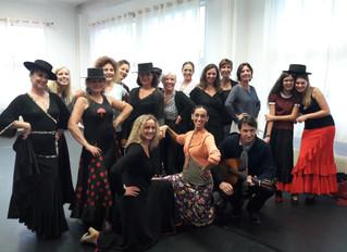 Cours de danse Flamenco 2017/2018 Haute Savoie