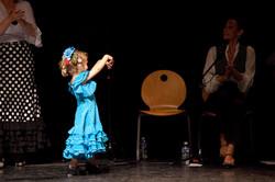 petite danseuse de flamenco