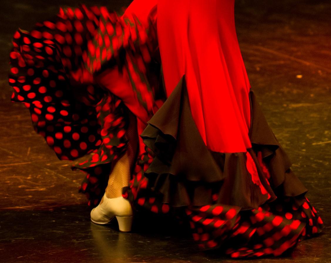 Alegria flamenco baile