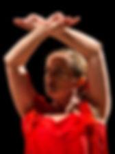 Sofia danseuse flamenco d'Albertville Savoie en concert à Bonneville (Haute-Savoie)