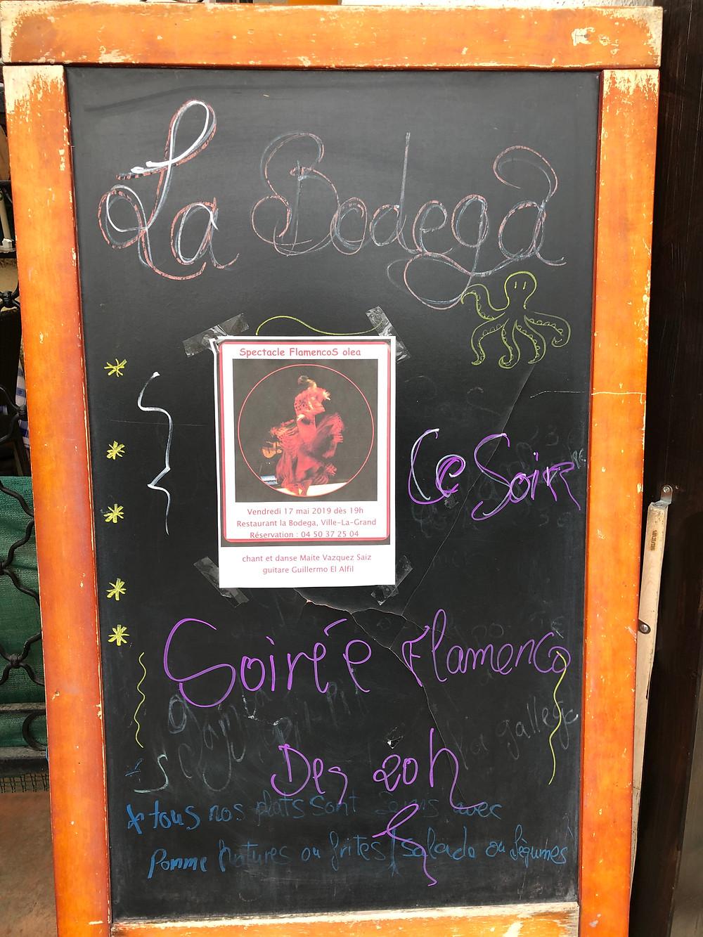Flamenco La bodega Annemasse