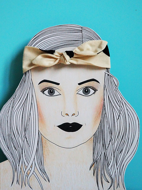 Signe Headband Small Bow