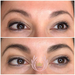 Can't commit to microblading but still need to give your brows a boost_ Eyebrow Tinting is amazing!!