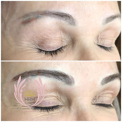 Eyebrow Microblading Tattoo Toronto Colour Correction