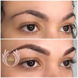 Ombre eyebrows Toronto