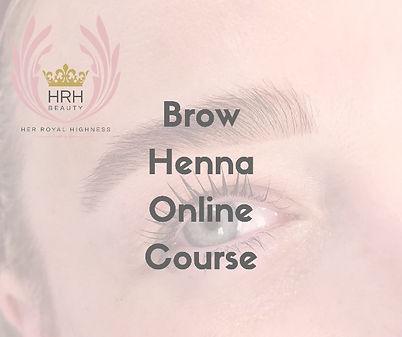 Online Eyebrow Henna Training Course