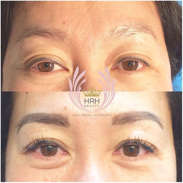 Another amazing BROW & LASH COMBO TRANSFORMATION! 💫Again, obviously happy expression in the after p