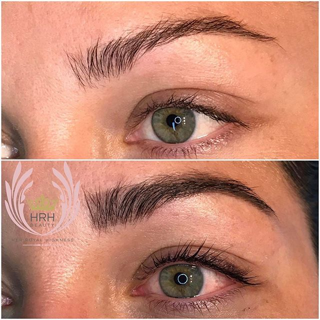 Close up of today's lashlift, lash tint and brow tint. So BEAUTIFUL!!! 😍🌸🌷🌺🌈._._._