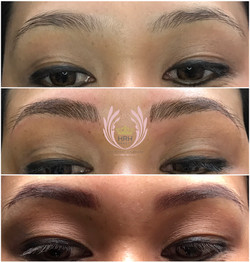 BEFORE, MICROBLADING, SOFT SHADING