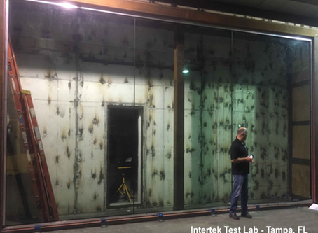 Frameless Impact Window Pushes Limits with 8'x12' Unit at +/-110psf!