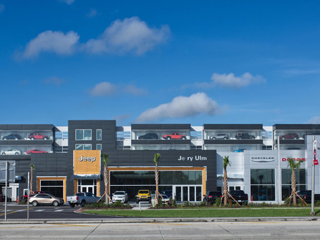 New Dodge, Jeep and Ram Dealership Showcases Vehicles Behind SLIMPACT®