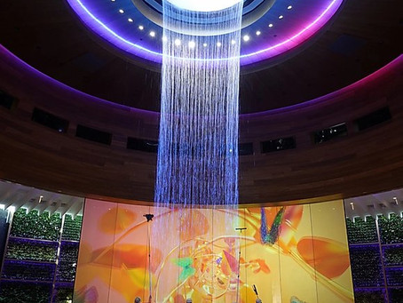 Making an Impact at the New Seminole Hard Rock Hotel & Casino - Faour Glass Stuns throughout the new
