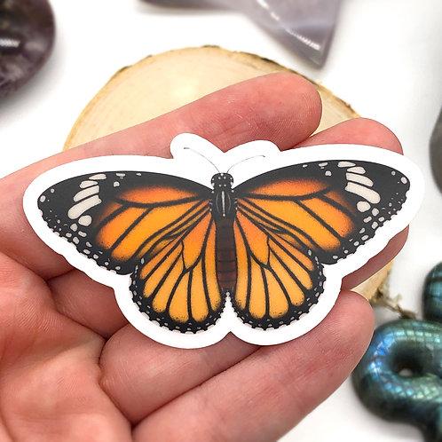 Monarch Butterfly Vinyl Sticker