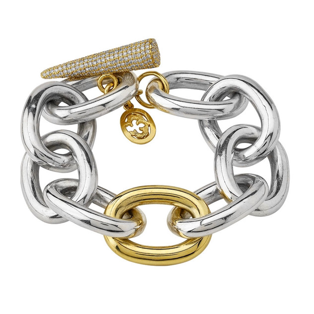 Jumbo Link Spike bracelet
