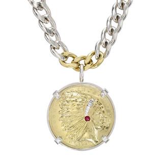 Native Coin Necklace