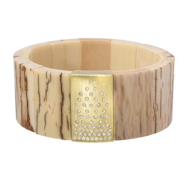 Fossil tile bracelet