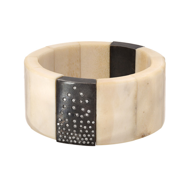Two panel moose bracelet