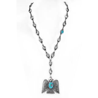 Thunderbird with 8 carats of diamonds