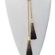 Snake wrap necklace