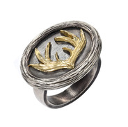 Silver and Gold Signet