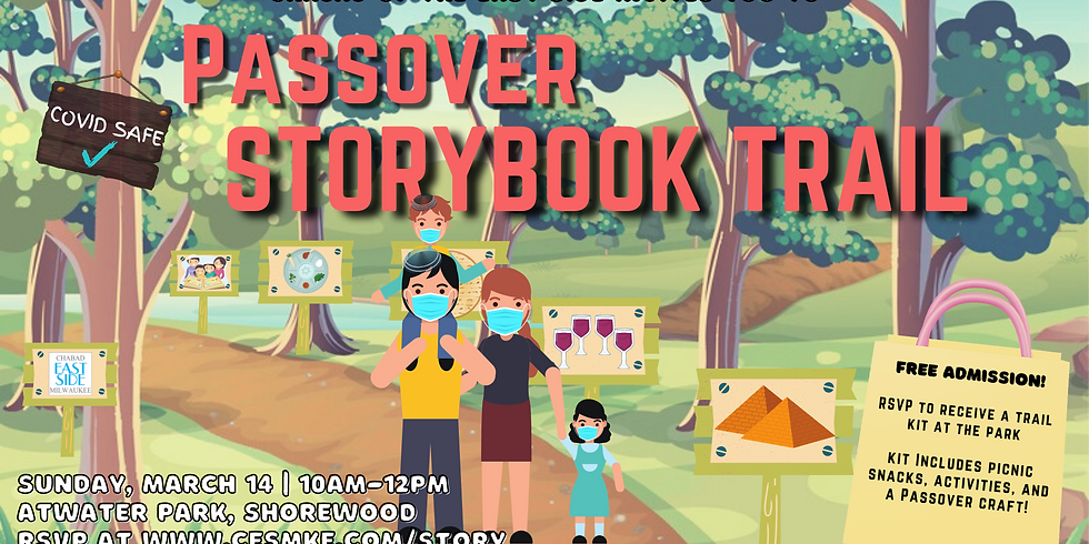 Passover Storybook Trail