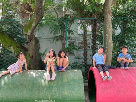 猿町公園での外遊び