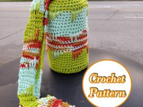 [Early Access] Crochet a Water Bottle Carrier Sleeve for a 64 oz. Bottle