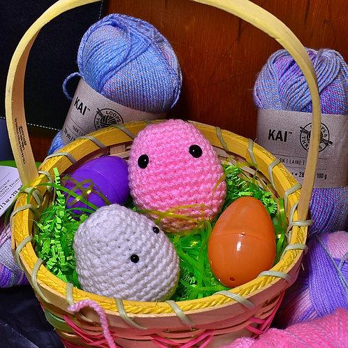 Eggu the Easter Egg Amigurumi Pattern