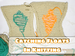 How to Carry Floats In Knitting a.k.a Carrying Colors in Color Change