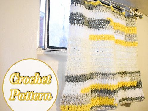 Crochet Statement Curtain Pattern for Beginners