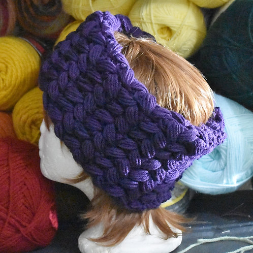 Braid Stitch Ear Warmer Headband