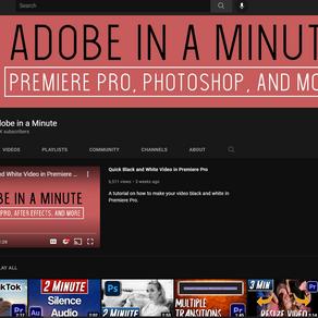 Channel ShoutOut: Adobe In A Minute