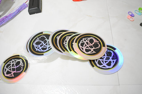 Infiniti Crafting Company Holographic Stickers