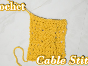 How to Crochet the Cable Stitch (2021)