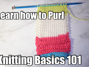 How to Purl (Knitting)