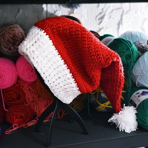 Traditional Crochet Santa Hat