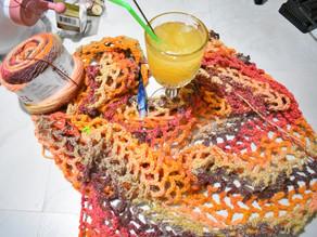 [#WipWednesday] Fishnet Shawl